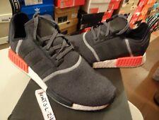 adidas NMD R1 Size 10 US Reflective 3m Dark Grey Solar Red