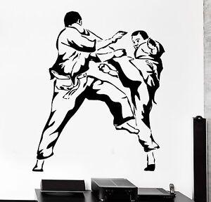Image is loading Wallpaper-Karate-Martial-Arts-Vinyl-Wall-Stickers-Home-  sc 1 st  eBay & Wallpaper Karate Martial Arts Vinyl Wall Stickers Home Decal Sport ...