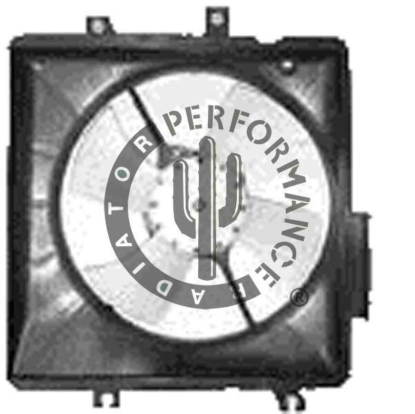 Engine Cooling Fan Assembly Performance Radiator Fits 1999