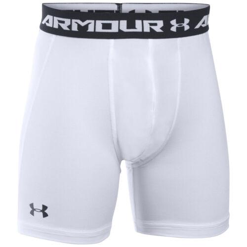 Under Armour Kids Compression HeatGear Base Layer Children Sport Training Shorts