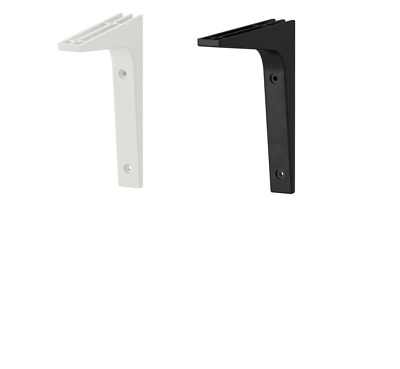 IKEA Ekby Valter Bracket 18 x 23 cm Black