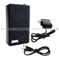 6800mAh Rechargeable Li-ion Battery Super Power Black for DC 12V System Devices