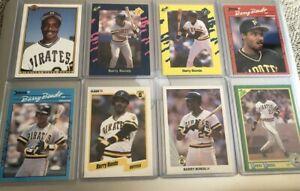1990 Barry Bonds 14 Card Lot - Donruss, Fleer, Leaf, Topps Upper Deck & More