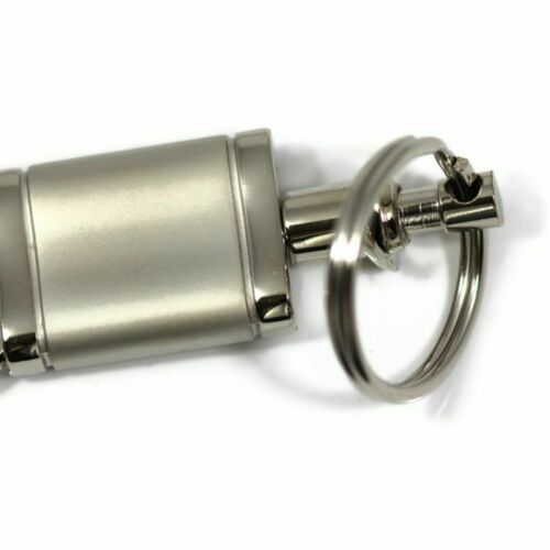 Nissan Sentra Key Ring Chrome Aluminum Valet Keychain