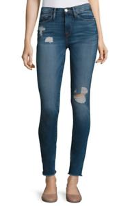 Frame Denim Le Skinny De Jeanne Jeans in Arenas NWOT Size 25  239
