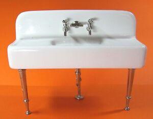 1:12- Dekoratives Miniatur Küchen Keramik Spülbecken | eBay