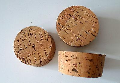 * 3 Korken Kork Verschluss Naturkork Stopfen Ca. 6,8 X 6,3 X 3 Cm Top * Produkte HeißEr Verkauf