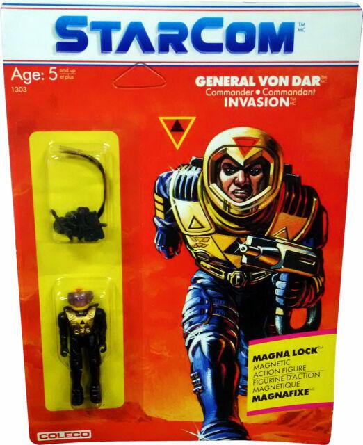 Von Rodd Action Figure for sale online Starcom Coleco 1986 Sgt