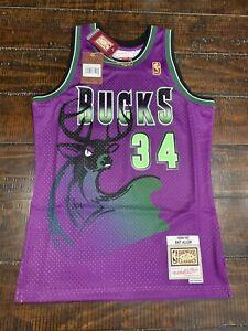 Ray Allen Milwaukee Bucks Mitchell & Ness NBA Reload Jersey | eBay