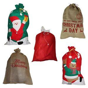 Jutesack-Weihnachtssack-Bescherung-Geschenk-Weihnachten-Nikolaus-Weihnachtsmann