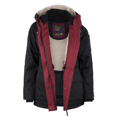 Short Winter Black Women's Coat Dufflecoat Parka Ibriza Jacket Khujo qZ8UPU