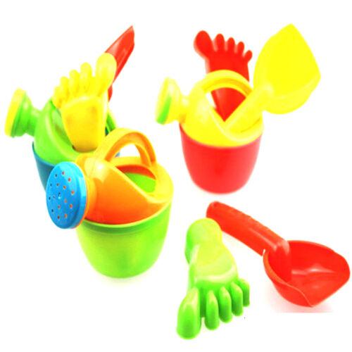 1set Kids Flower Pot Sand Beach Toys Baby Bath Water Toys Educational Tool  X