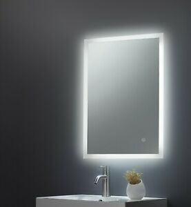 Alfie Bluetooth Led Bathroom Mirror With Usb Charger Demister Shaver Socket 3037 Ebay