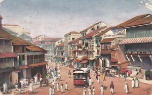 Postcard-Bombay-India-Pydownie-St