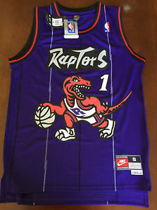6672506df Image is loading NBA-Toronto-Raptors-Tracy-McGrady-Hardwood-Classic -Throwback-