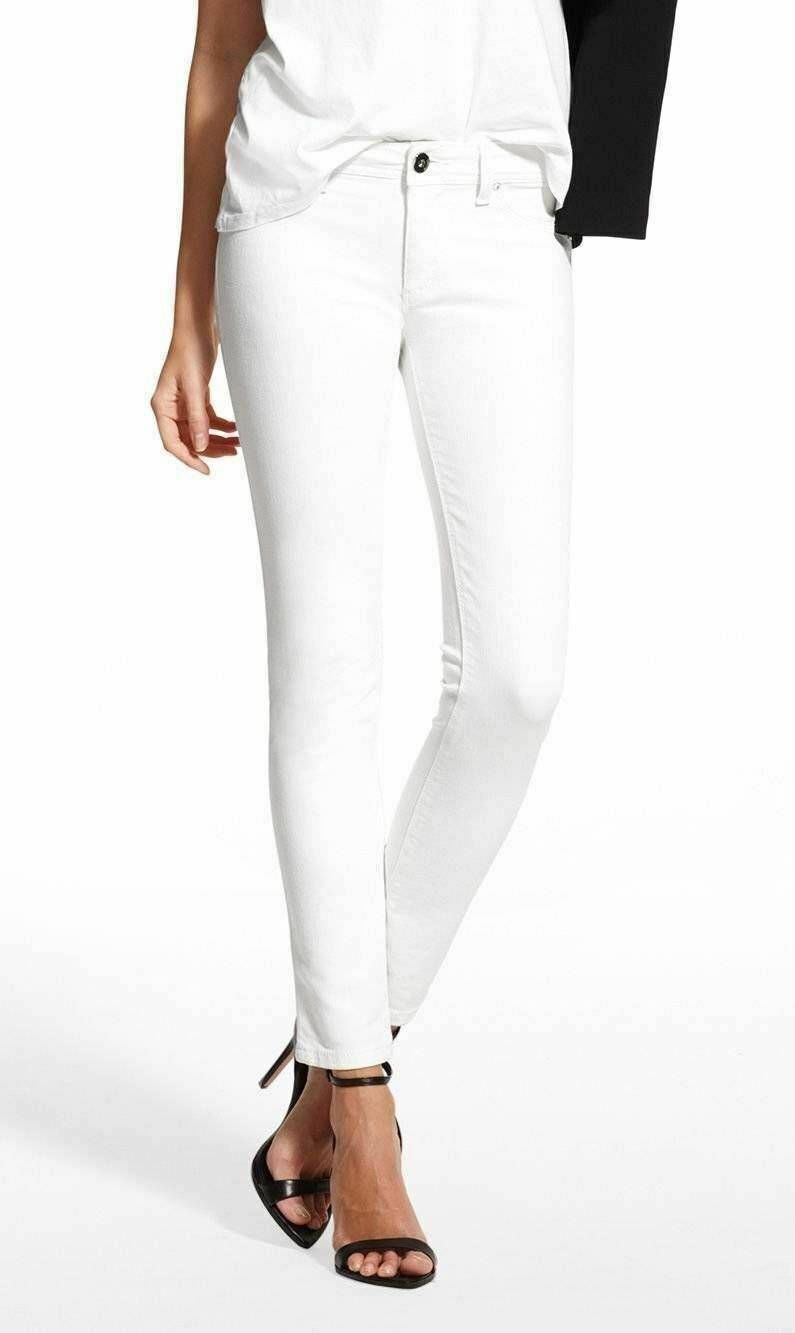 NWT DL1961 Emma Legging Jeans in Milk- White Wash sz 30