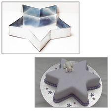 """Unico Star 6"""" Matrimonio Compleanno Natale TEGLIE-PENTOLE per torta"""