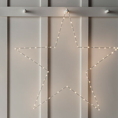 Extra Large Christmas Star Fairy Light Decoration with Warm White Micro LEDs