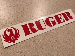 Ruger Precision 6.5 Creedmoor Decal Sticker