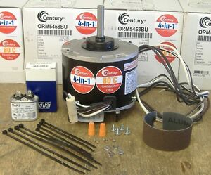 A/C Outdoor Condenser Fan Motor 1/6-1/3 HP 1075 rpm NEW Century ORM5458BU