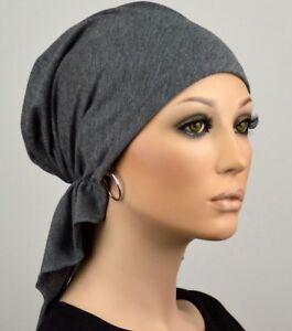 Damen Bandana Kopftuch Chemo Mütze Ohne Binden Tuchmütze Tuch