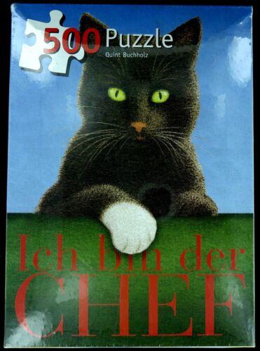 """Inkognito 500 pezzi /""""Black Cat-IO SONO IL BOSS/'s Puzzle Jigsaw da Quint Buchholz"""