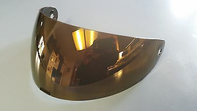 HALO Master Chief helmet gold iridium visor *Gold / Purple tinted mirror*
