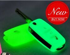 240- VW VOLKSWAGEN POLO VENTO JETTA Key Remote 3 BUTTON Cover GLOW GREEN NEW