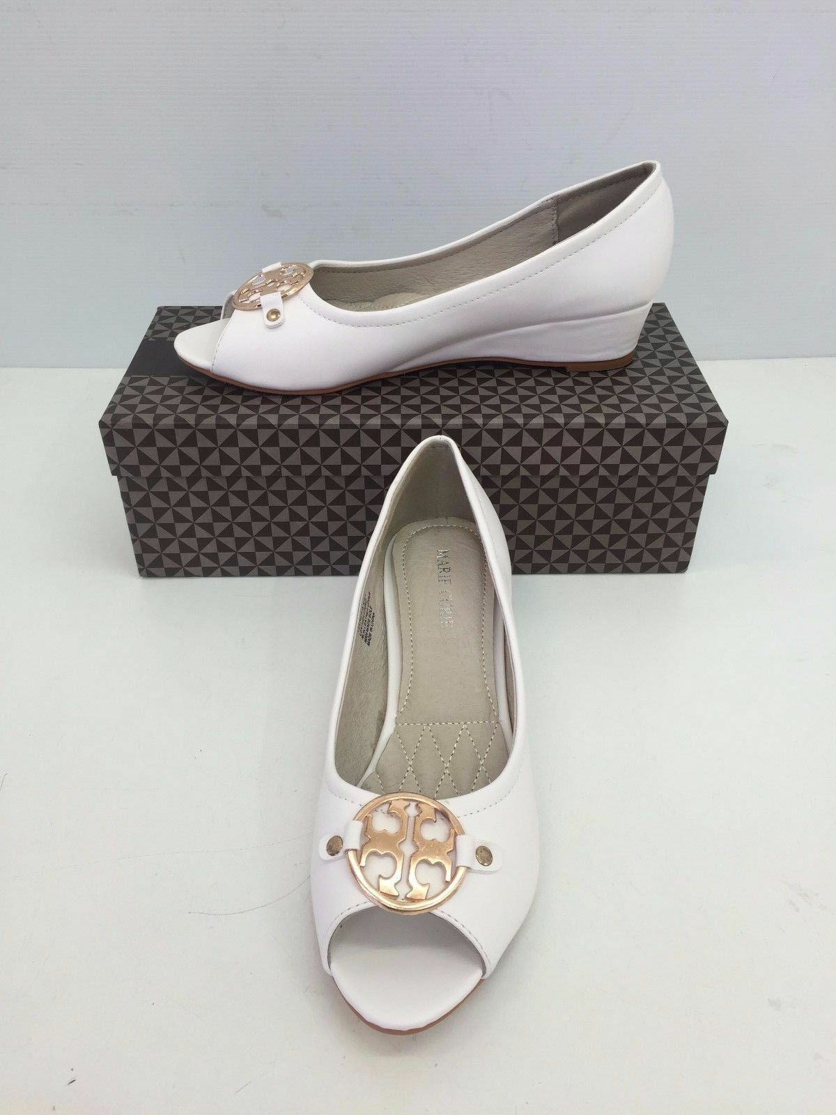 NEW Women Wedge Shoes everyday shoes work shoes GOOD QUALITY SHOES White