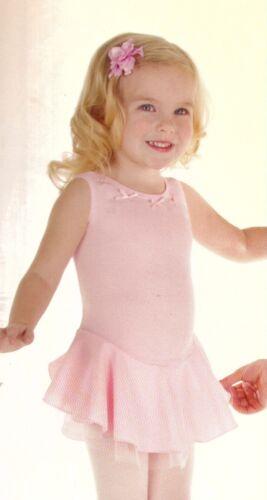 NWT Body Wrappers Light Blue Dance Dress Style 163 chiffon underskirt sz Large C
