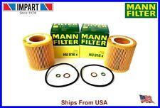 BMW Oil Filter 11 42 7 541 827 MANN HU816x  Qnt. 2