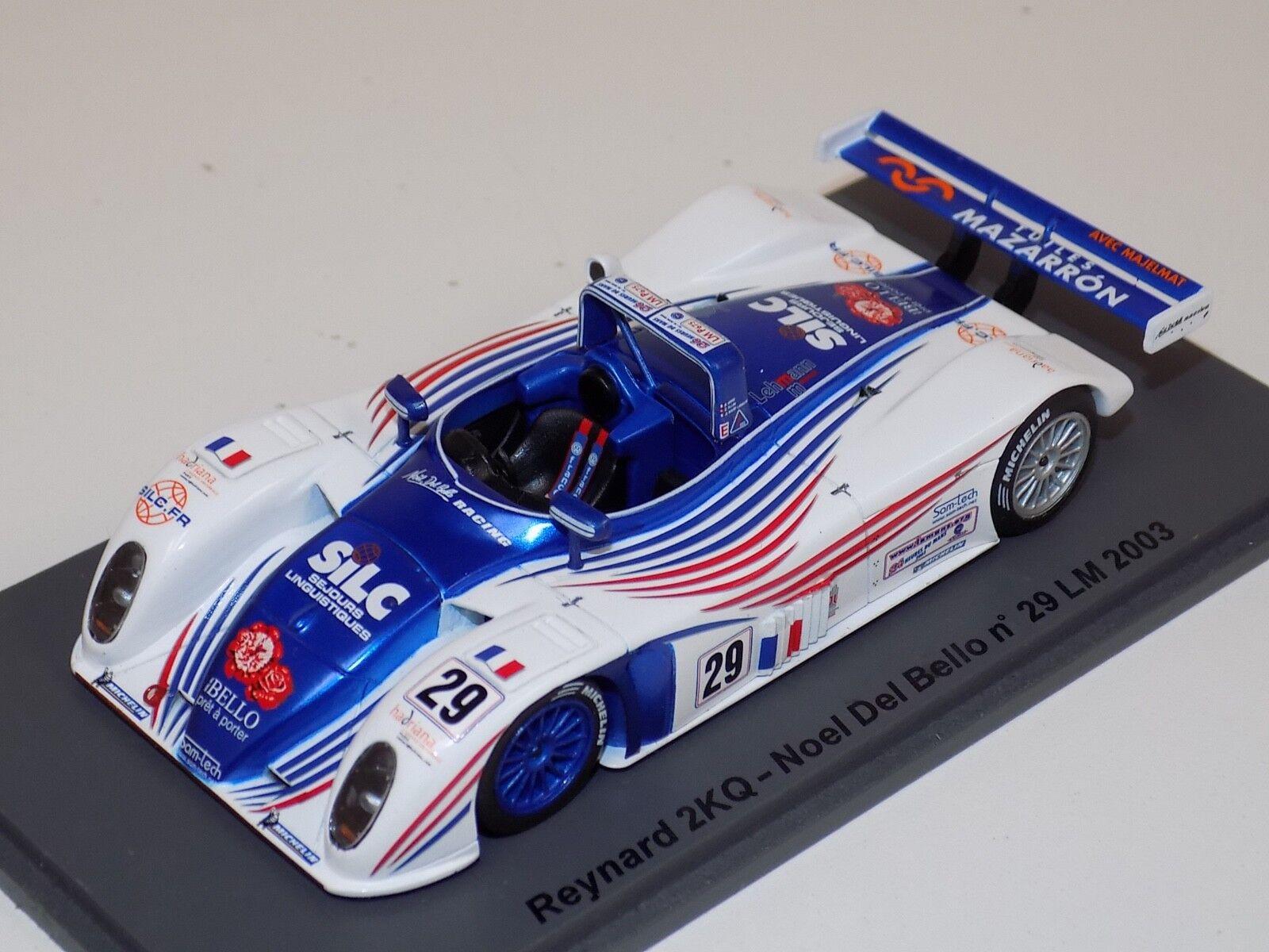 venta 1 43 Spark Reynard Reynard Reynard 2KQ T  29 24 horas lemans 2003 SCYD 11  muchas sorpresas