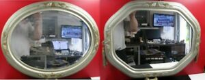 Copieux Miroir Art Déco Lot De 2 - Décor Semblable - Déco Entrée, Chambre D'hôte..... Larges VariéTéS