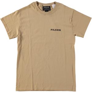 Filson S//S Upland Caza Pájaro Camiseta Bronceado