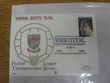 10/02/1973 Commemorative Cover: York City, 50th Anniversary, Issue FL.18 - Speci