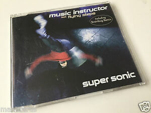 MUSIC-INSTRUCTOR-FEAT-FLYING-STEPS-Super-Sonic-Maxi-CD-Single