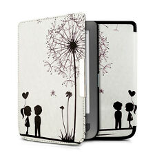 kwmobile Flip Tasche für Pocketbook Touch Lux 3 Touch Lux 2 Kunstleder Love