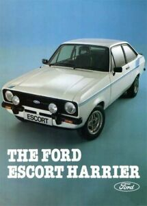 Ford-Escort-Harrier-Mk2-Limited-Edition-Retro-POSTER-PRINT-CLASSIC-70s-ADVERT-A3