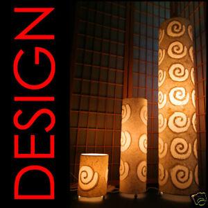 Design-Steh-Stand-Papier-Lampe-Leuchte-Papierlampe-L25-B-Ware-Ruecklaeufer