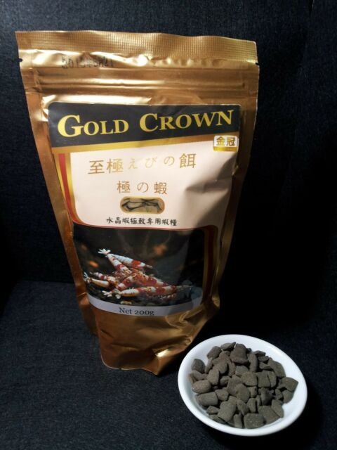 Premium Shrimp Food 至極えびの餌 food of CRS crystal red shrimp Enrichment Supplement