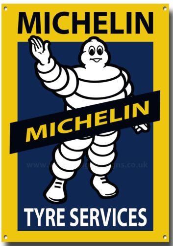 MICHELIN TYRE SERVICES METAL SIGN.GARAGE METAL SIGN,WORKSHOP METAL SIGN. A3