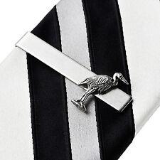 Crane Tie Clip - Tie Bar - Tie Clasp - Business Gift - Handmade - Gift Box