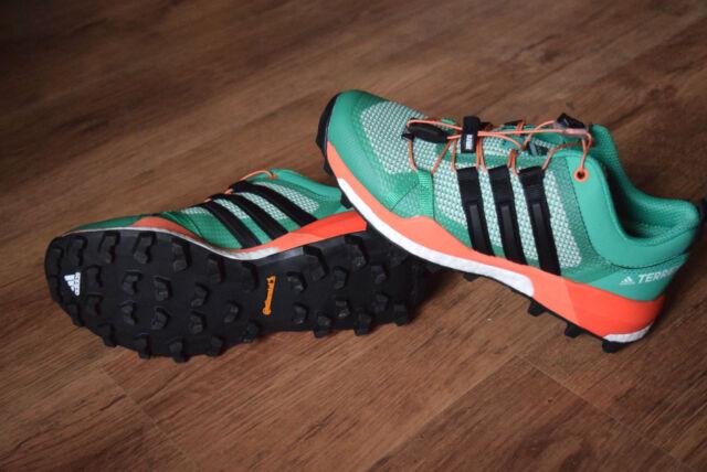 504764702 Adidas Terrex Skychaser mujer verde exterior Walking sendero zapatos ...