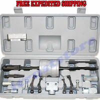 Mini Small Size Bearing Gear Dent Puller Pulling Tool Kit Slide Sliding Hammer