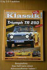 Motor Klassik 10/00 Triumph TR 250 Volvo 164 Porsche