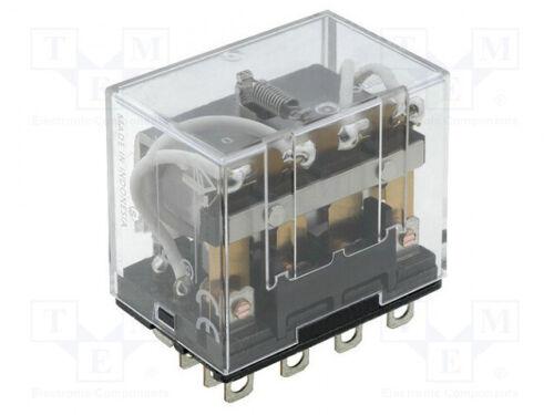 24VDC 10A//110VAC 10A 1 st elektromagnetisch 4PDT USpule Relais