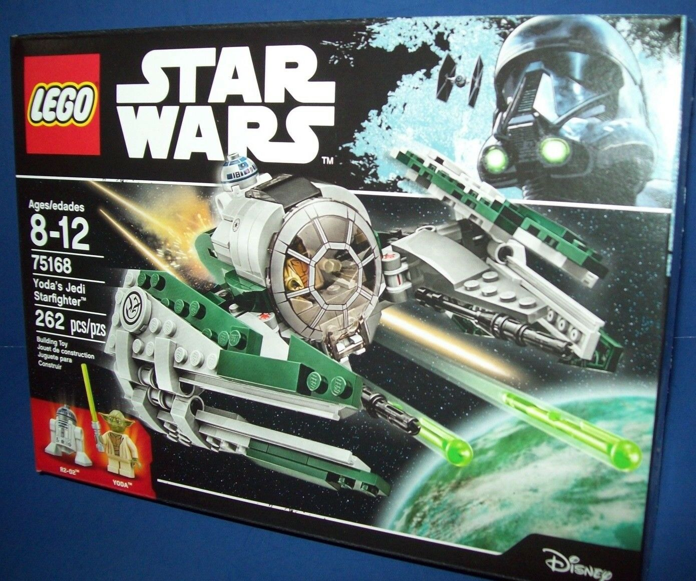 LEGO 75168 Star Wars Yoda's Jedi Starfighter NEW NISB