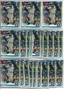 2019-Topps-Update-Series-Shed-Long-23-Card-Rookie-Lot-US69-Mariners-RC