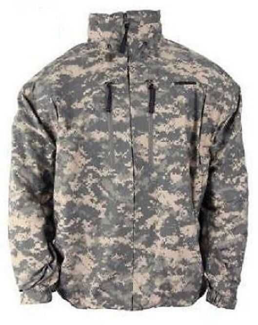 Us Army UCP acu Goretex lwh UltraLite lightwight Jacket chaqueta ml Medium Long