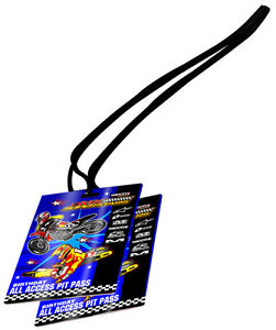 Smooth Industries MX Superstars Birthday Party Pit Passes (10Pk)